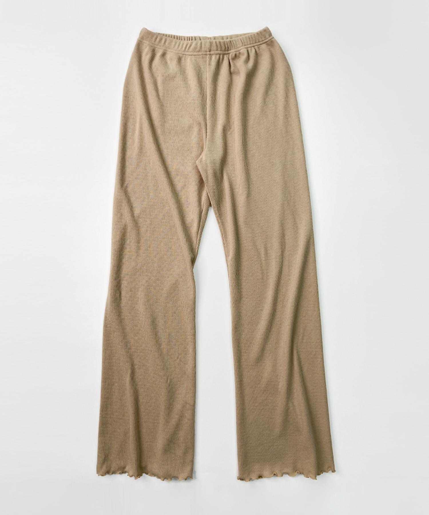 PARMA BOOTS CUT PANTS (파르마 부츠컷 팬츠) - BEIGE