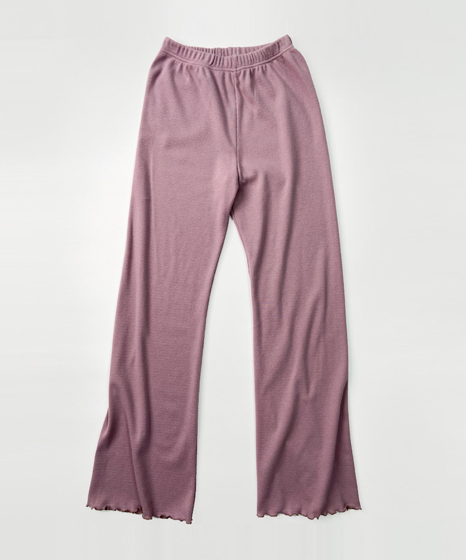 PARMA BOOTS CUT PANTS (파르마 부츠컷 팬츠) - PINK